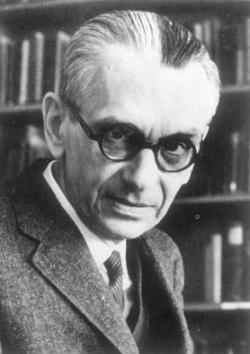 Kurt Gödel (1906-1978) war Mathematiker und gilt als bedeutendster Logiker des 20. Jh.; er bewies u.a. die Vollständigkeit der Quantorenlogik erster Stufe ... - goedel