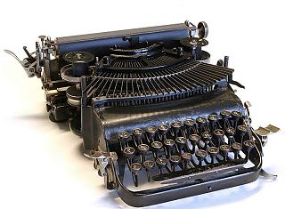 Hyper Lexikon Schreibmaschine